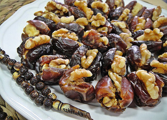 Nuts Stuffed Dates