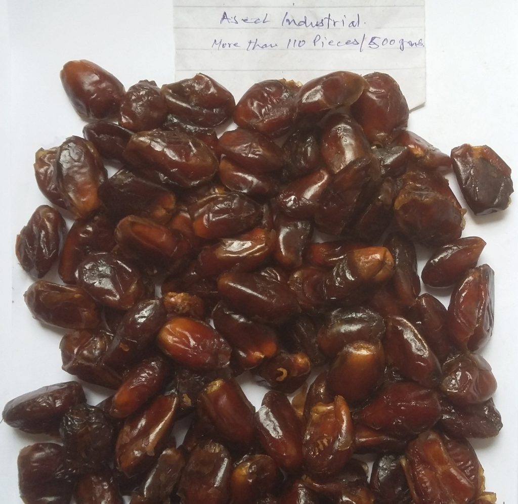 Industrial Pitted Aseel Dates